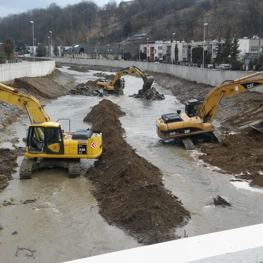 Protipovodňová regulácia rieky Topľa - Obrazok