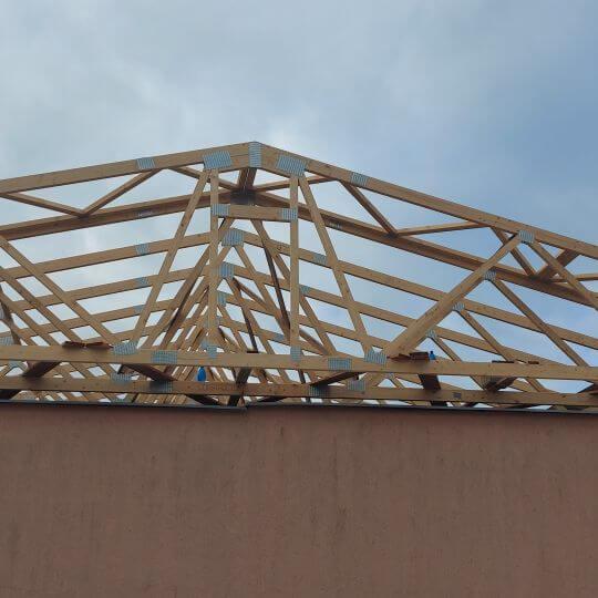 Rekonštrukcia strechy SOŠ Drevárska VT - Obrazok