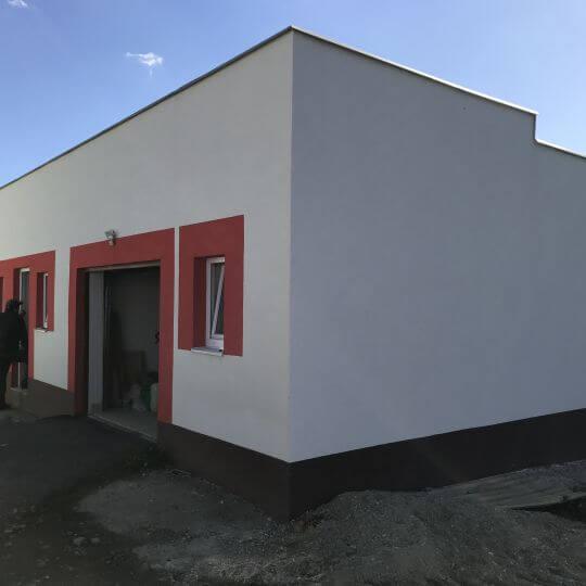 Prerábka budovy na požiarnu zbrojnicu - Obrazok