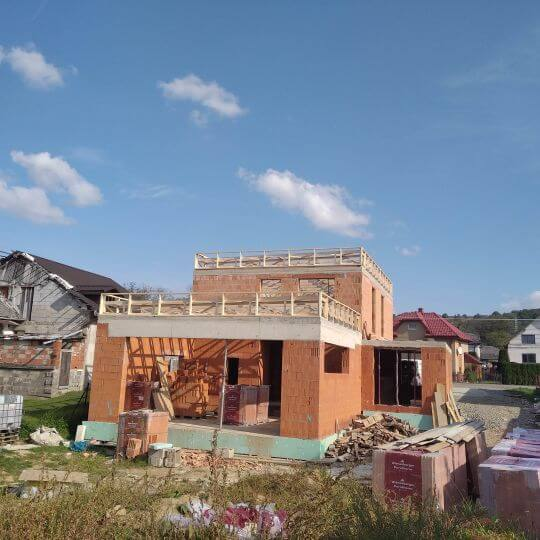 Novostavba rodinného domu Vyšný Žipov - Obrazok